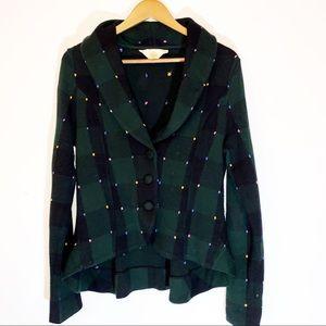 Anthropologie HWA knit blazer great condition sm